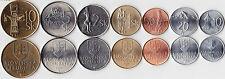 Slovakia 7 COINS SET world coins lot  NEW UNC