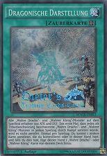 YU-GI-OH, DRAGONISCHE DARSTELLUNG, SCR, MACR-DE053, 1. Auflage, TOP