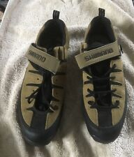 Shimano Shoes, Size 45- Tan