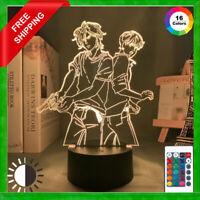 Acrylic Led Night Light  Banana Fish Anime Lamp Bedroom Decor Gift free Shipping