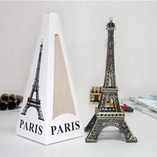 Cute Paris Eiffel Tower Figurine Statue Model Decor 18CM 2018 Vintage Bronze GP3