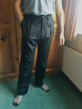 Tommy Hilfiger he can relaxed trousers 34/32 34 32 100% virgin wool