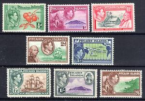 Pitcairn Islands part set Cat £39 mounted mint 1940 KGVI [P0221]