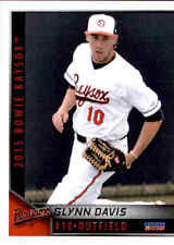 2015 Bowie Baysox Choice #7 Glynn Davis Pasadena Maryland MD Baseball Card