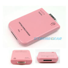 2800MAH PORTABLE EXTERNAL PINK BATTERY MOBILE CHARGER IPHONE 4S 4 3GS 3G IPOD