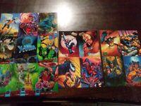 Marvel Fleer Ultra 1994 X-Men Premiere  Promo Sheet Uncut spiderman/mastepiece