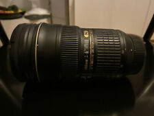 Nikon AFS Nikkor 24-70 mm f/2.8 Lens - Great condition