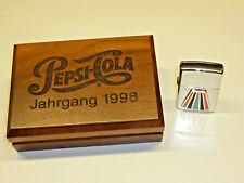 PEPSI-COLA classe-Zippo lighter 1998 with nice plate-Neuf dans sa boîte-Never Struck