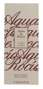 Victorio Lucchino Agua de Rocio Eau de toilette 125ml pour Femme Neuf 4.2 oz