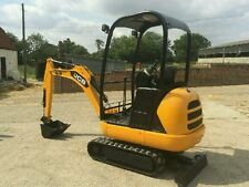 JCB 8014 1.5T MINI DIGGER FOR HIRE POOLE/BOURNEMOUTH FROM £70 Auger Attachment