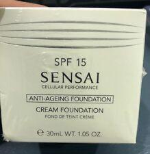 BNIB SENSAI Cellular Performance Cream Foundation SPF15 CF24 Amber Beige 30ml