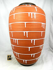 "Schöne / beautiful 50´s design ILKRA Keramik Vase  "" Palermo "" 117 / 50 cm !!"