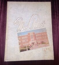 1955 NORVIEW HIGH YEARBOOK NORFOLK VA • THE PILOT!!! RARE!!!