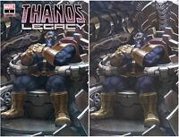 Thanos Legacy 1 Marvel 2018 Skan Srisuwan Trade Virgin Set 2 Variant Donny Cates