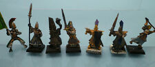 WARHAMMER Miniature Alti elfi - Hight Elves - Metallo/plastica FUORI CATALOGO