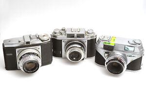 Kamera Konvolut Balda / arette automatic s mit Radionar / DACORA mit Correlar