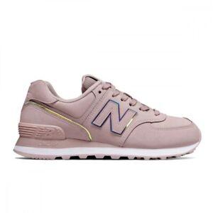 new balance 574 nere e rosa