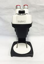 Bausch & Lomb Stereozoom 3 Microscope on A Stand w/ Case and Cover