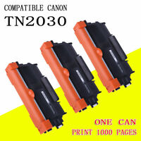 3x TN-2030 Toner Cartridge for Brother HL-2130 HL2132 HL2135 HL2135w TN2030