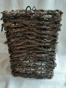 MN Jaggery Palm Lampshade Light Candle Handmade Unique Wicker Decorative Shop