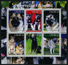 Republic Turkmenistan m/s Mnh Dogs, Norwegian Elkhound
