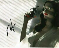 EVA GREEN  Autographed hand signed 8 x 10 photo