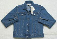 Calvin Klein Mens Mid-blue Denim Trucker Jacket M