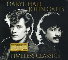 Daryl Hall & John Oates - Timeless Classics (2017 CD) 18 Of Their Greatest Hits
