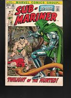 Sub-Mariner #48 - (Marvel 1972) - Dr.Doom Cover