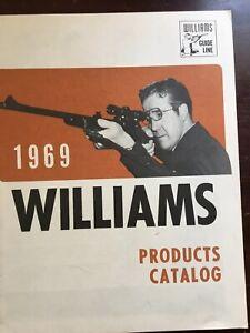 1969 Williams Products Catalog, Gun Sights, Reciever Sights,