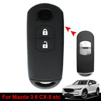 2 Button Car Remote Key Shell Cover Case For Mazda 3 6 CX-3 CX-5 CX-7 CX-9