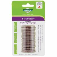 PetSafe Busy Buddy Gnawhide Rings Rawhide Bristle & Bouncy Bone Refills - Size A
