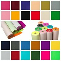 Self Adhesive Sticky Backed Felt Baize Craft Fabric Material - Many Colours