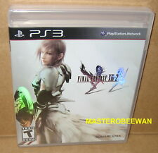 Final Fantasy XIII-2 Black Label New Sealed (Sony PlayStation 3, 2012) PS3
