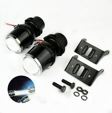 Halogen Fog Lights Project Headlight Angle Eyes Low Beam For Auto Car Motorcycle