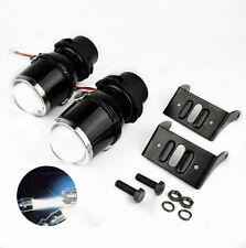 2X 55W H3 Halogen Fog Light Universal HID Xenon Bulb Lamp Car Auto Lens