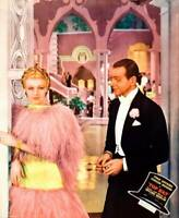 OLD MOVIE PHOTO Top Hat Lobby Card Ginger Rogers Fred Astaire On Jumbo 1935