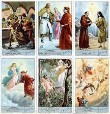 Chromo Liebig Sang. 1818 ITA Il Paradiso (Divina Commedia) ANNO 1966