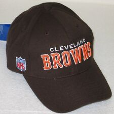 NFL Cleveland Browns Brown Structured Adjustable Hat By Reebok
