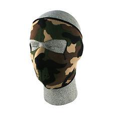 Neoprene Face Mask Reversible Black and Camo Adjustable Waterproof Windproof NEW