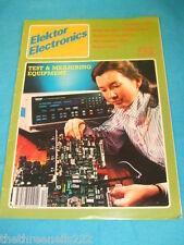 ELEKTOR - TEST & MEASURING EQUIPMENT - DEC 1987 # 151