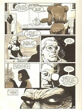 Planet of the Apes #19 p.11 - Punishment Book - 1992 art by M.C. Wyman