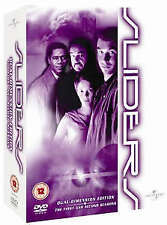 SLIDERS: THE FIRST AND SECOND EDITION -DUAL DIMENSION EDITION (DVD) LIKE NEW