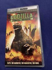 PSP UMD Movie Sony PlayStation Portable Godzilla Final Wars !!!