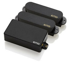 EMG SA/SA/85 HSS Strat Pickup Set - black