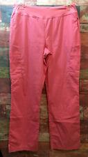 White Cross Allure Women's Paris Pink? STRETCH Yogo Cargo Scrub Pants