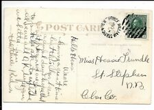 CANADA KEVII PRINCE WILLIAM STATION ..POSTCARD LADY RED INDIAN POSTALLY USED
