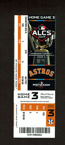 2019 ALCS Game 6 (Home Game 3) Ticket Yankees @ Astros Clincher Altuve WO HRp