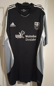 Adidas Clicamcool TUS Drevenack Shirt Black and Grey European Football Size XXL