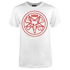 Powell Peralta Bones Pentagram Skateboard T Shirt White w/Red Logo Xl
